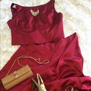 After Six 2 piece Dress size 22